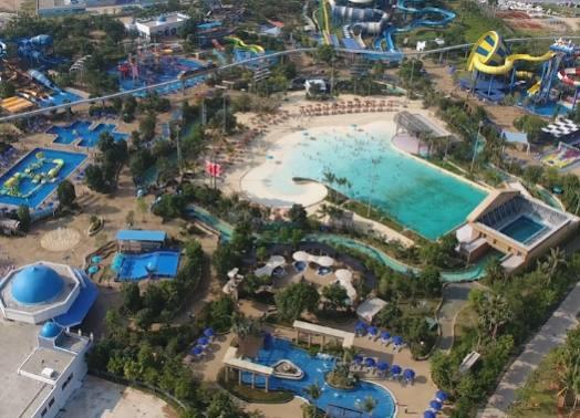 椰岛自由行 | 陵水麦迪卡斯水乐园:刺激一波又一波 小心脏扑通一下又一下