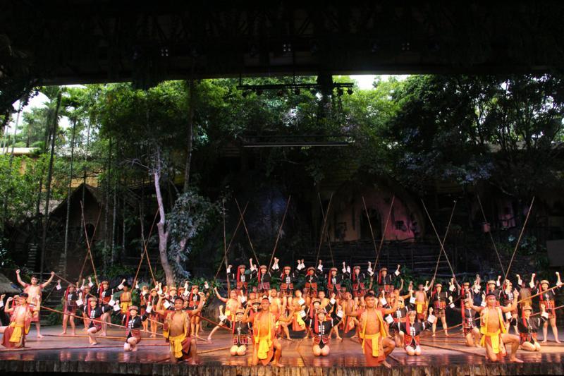 1、《槟榔·古韵》实景演出(1)