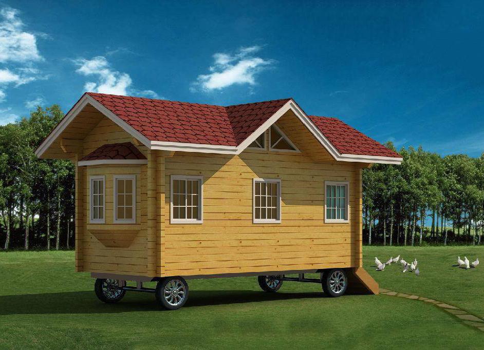 想驾驶移动木屋来场说走就走的旅行吗?这个来自海垦林产的优秀设计帮你实现!