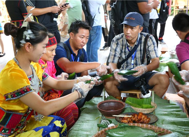 路演群嗨、线上抢票、黎家三色粽 槟榔谷推出端午特色大餐