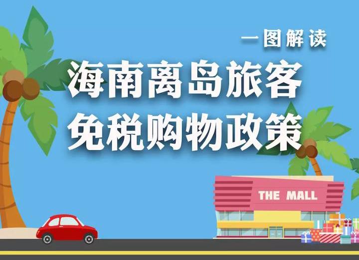 来万博亚洲入口买买买!一张图教你如何享受离岛旅客免税购物优惠政策