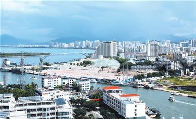三亚东岸村_聚焦三亚总部经济及中央商务启动区: 看看未来的三亚CBD现在的 ...